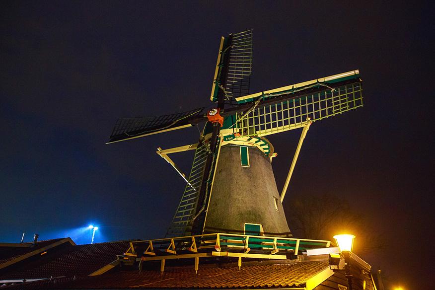 Krijtmolen d'Admiraal Amsterdam Noord