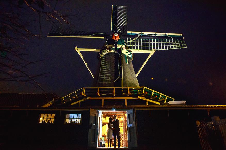 Bruidsfotograaf Amsterdam Krijtmolen d'Admiraal