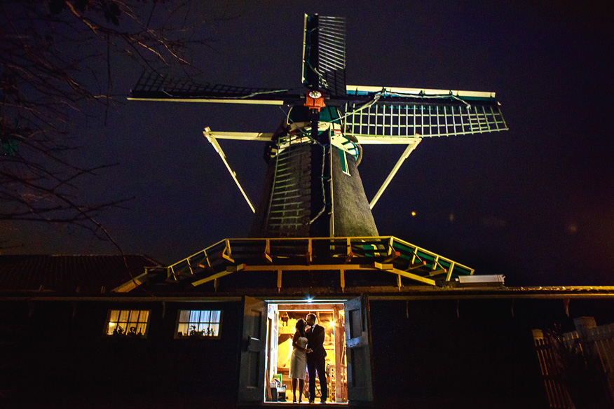 Bruidsfotograaf Amsterdam Krijtmolen d