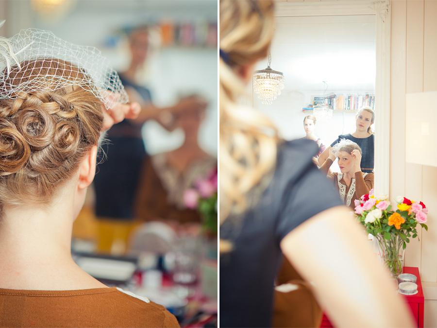 Voorbereiding Bruid