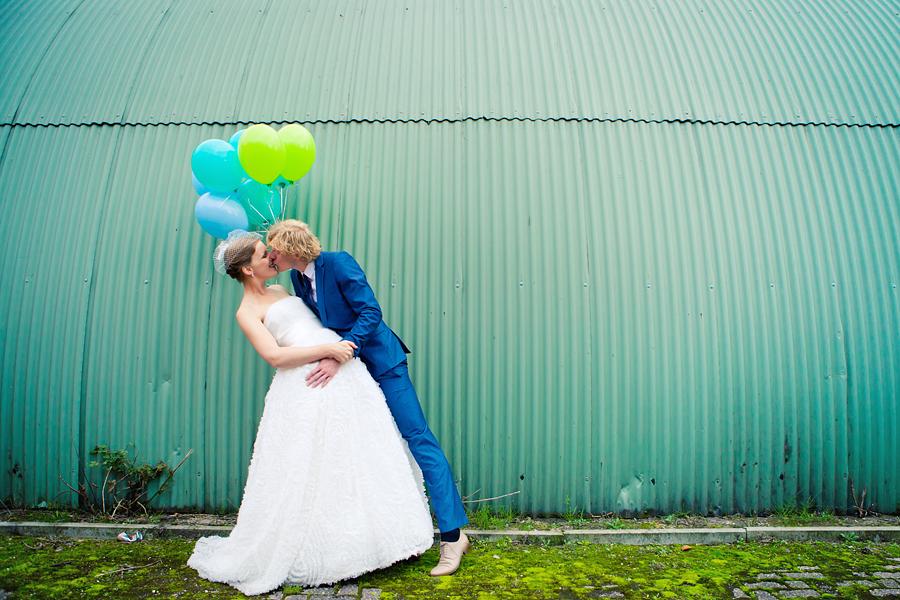 Ballonnen Bruidsfotografie