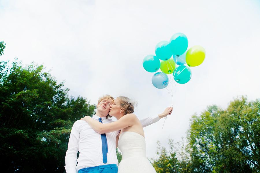 Balonnen Bruidsfotografie