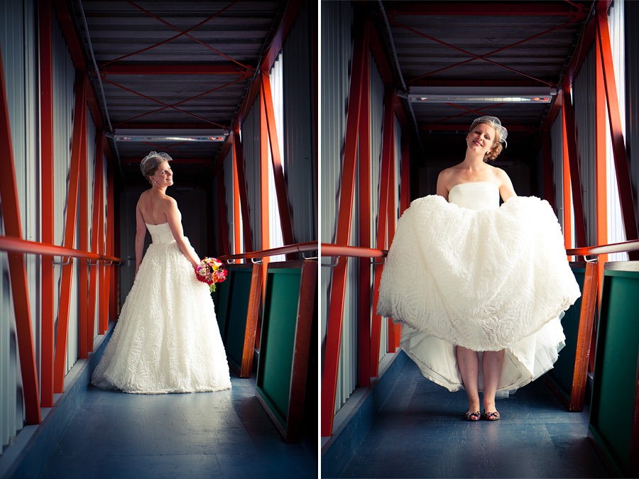 Aparte fotolocatie bruiloft