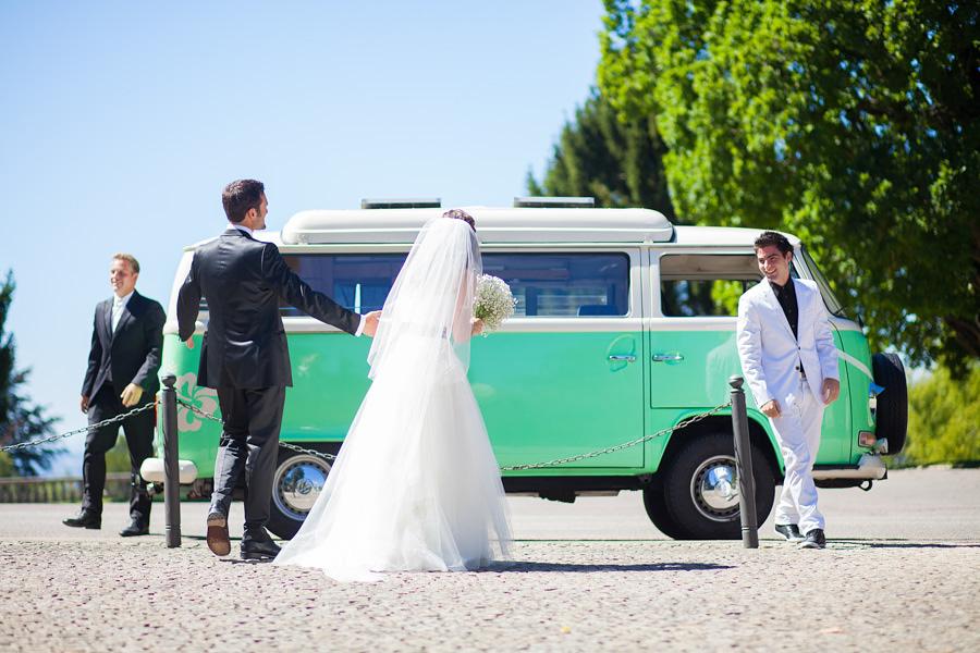 Bruiloft Volkswagen Bus