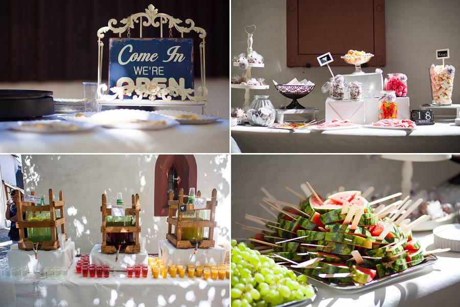 Details Receptie Feest Bruiloft