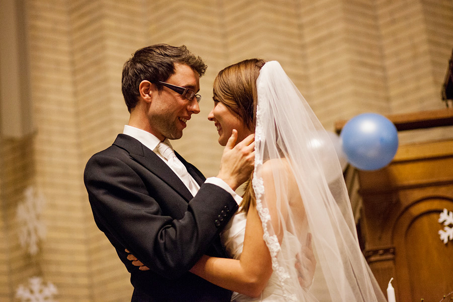 bruidsfotograaf winter bruiloft