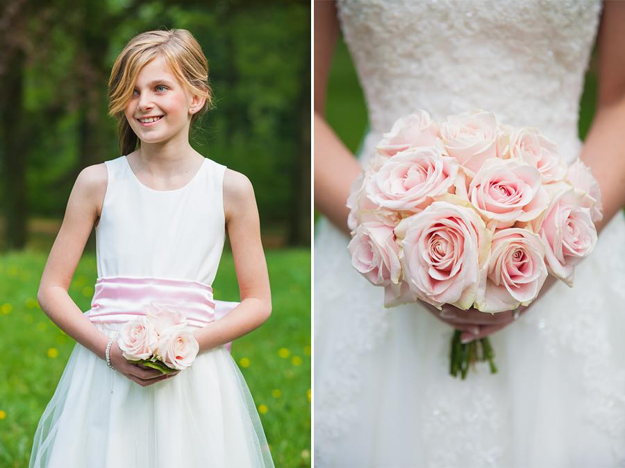 Bruidsmeisje bloemen