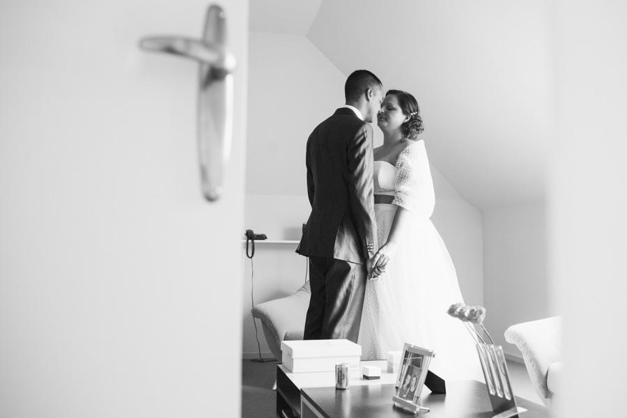 Trouwfotografie ontmoeting bruidspaar