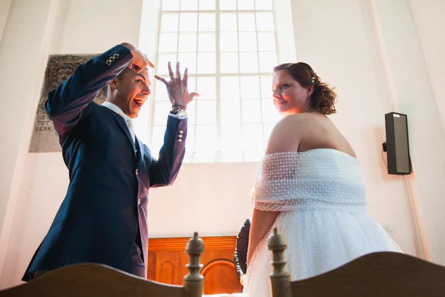 Ceremonie bruiloft