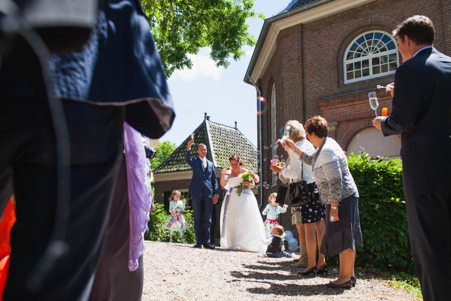 Toast bruiloft