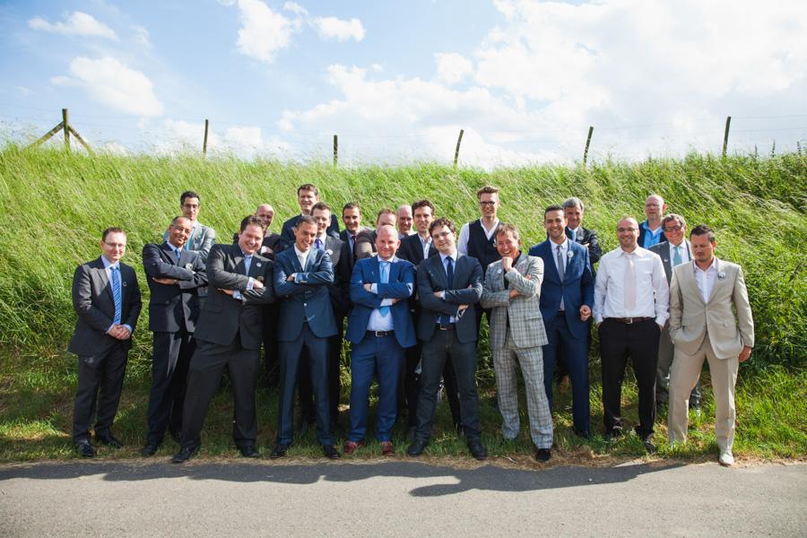 Groepsfoto tips bruiloft