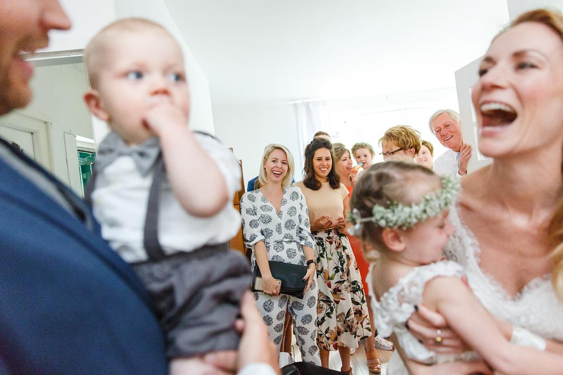 ontmoeting bruidspaar bruiloft amsterdam