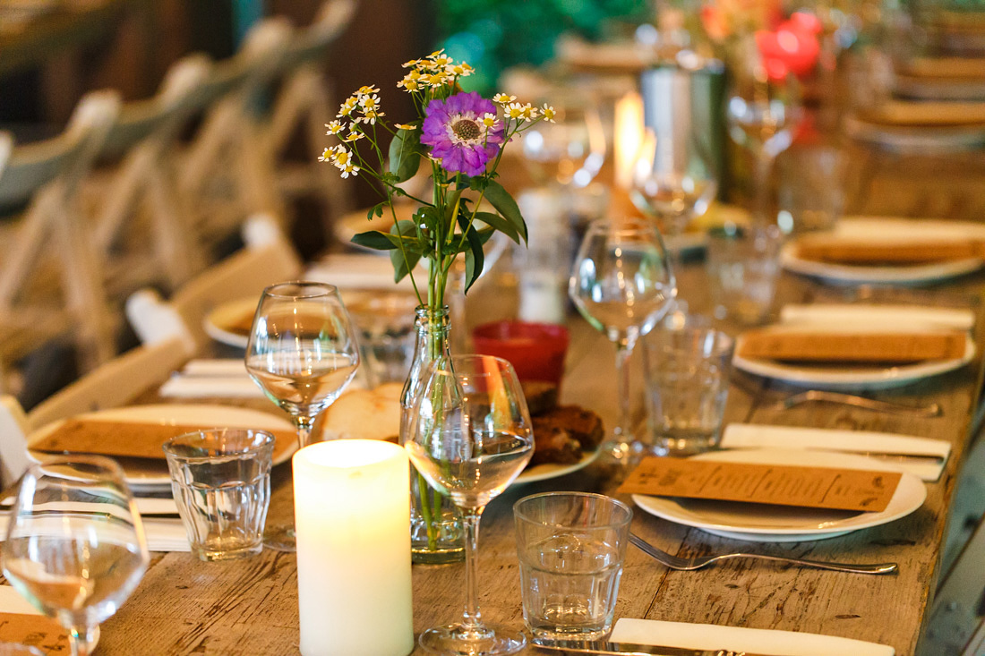 styling diner bruiloft langerlust