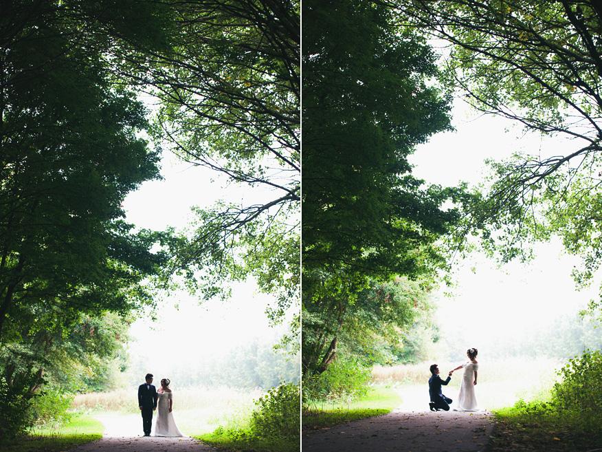 Wedding Loveshoot Amsterdam Proposal