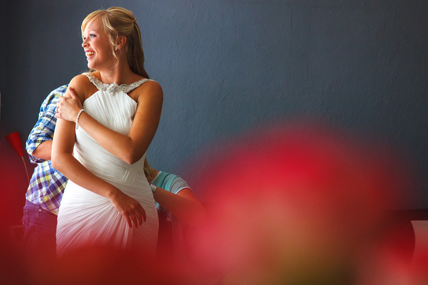 Bruidsfotograaf Amsterdam voorbereiding bruid