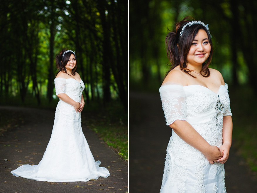 Wedding Loveshoot Amsterdam bride