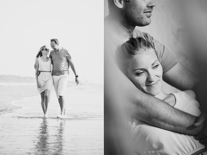 Ontspannen couple shoot