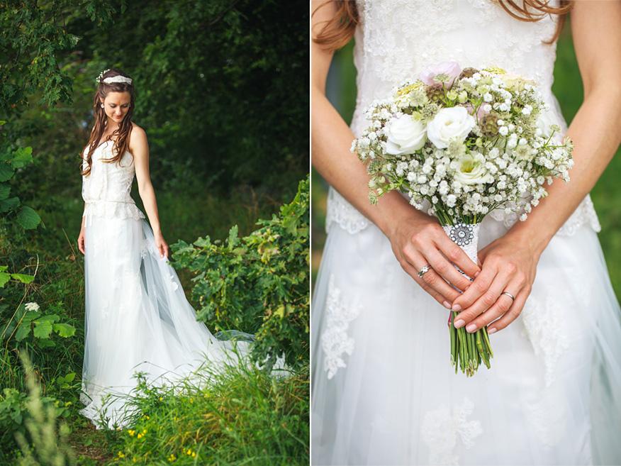 Bruidsfotograaf vintage bruiloft Zwitserland