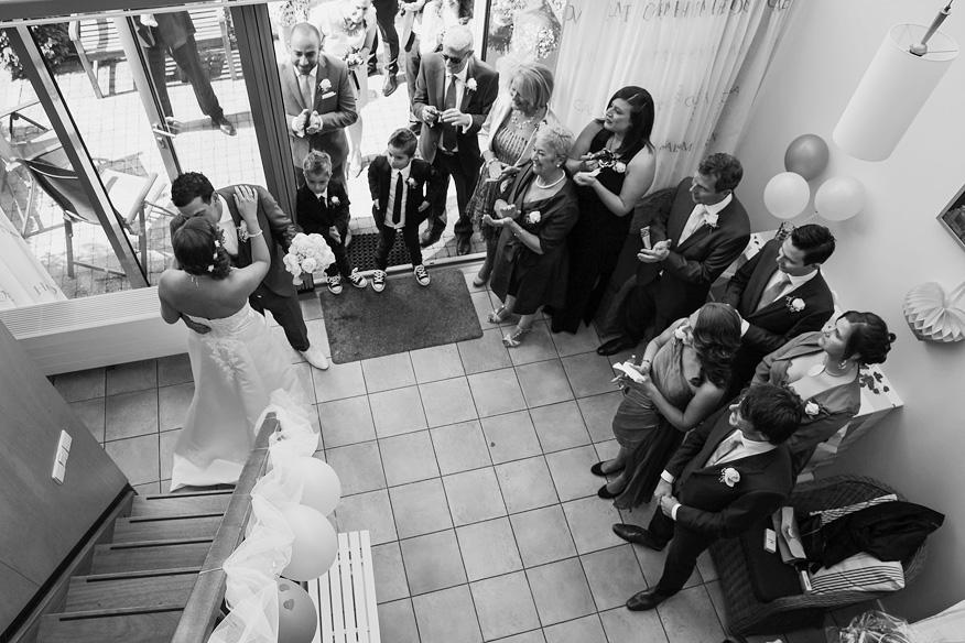 Ongedwongen ontspannen trouwreportage