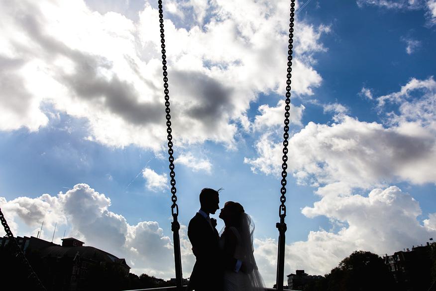 Bruidsreportage Magere brug