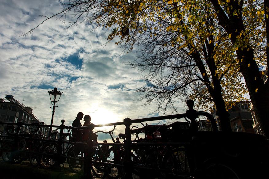 Vacation photographer Loveshoot Couple shoot Amsterdam