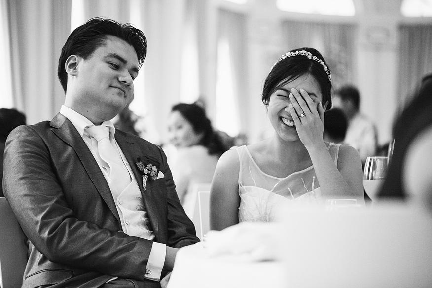 receptie bruiloft trouwreportage