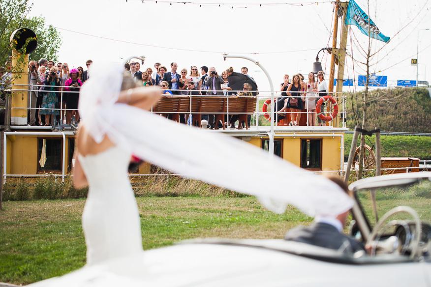 Bruiloft Pakjesboot