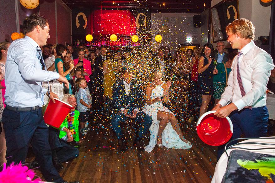 Bruidsfotografie Feest
