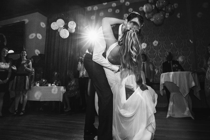 Bruidsfotografie openingsdans