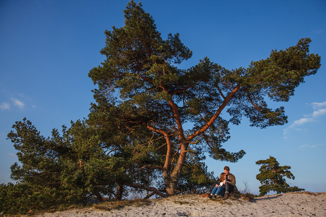 Loveshoot in de Soesterduinen