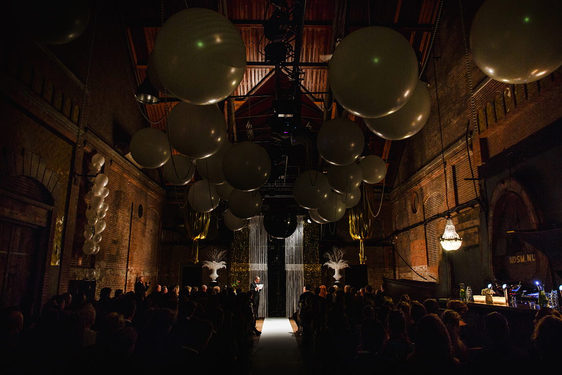Bruidsfotografie Amsterdam Ceremonie Great Gatsby thema