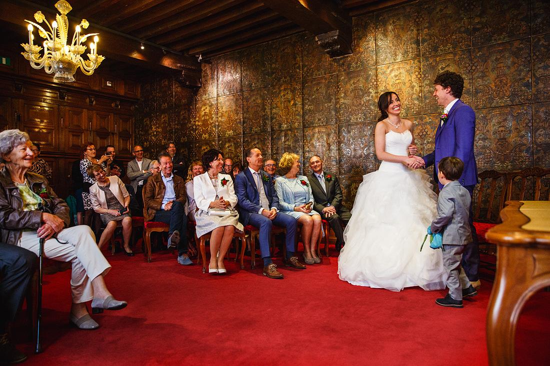 Ceremonie Stadhuis Bruiloft