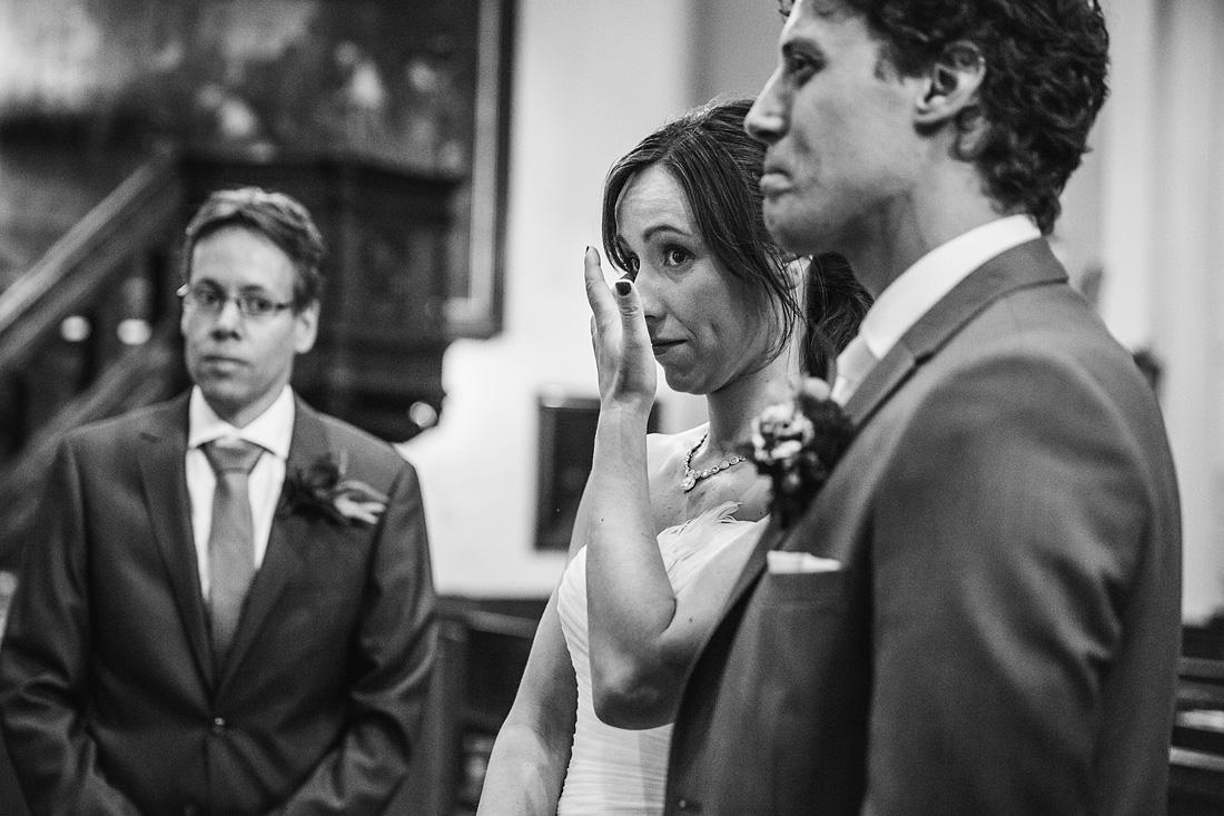 Emotie Bruidsreportage