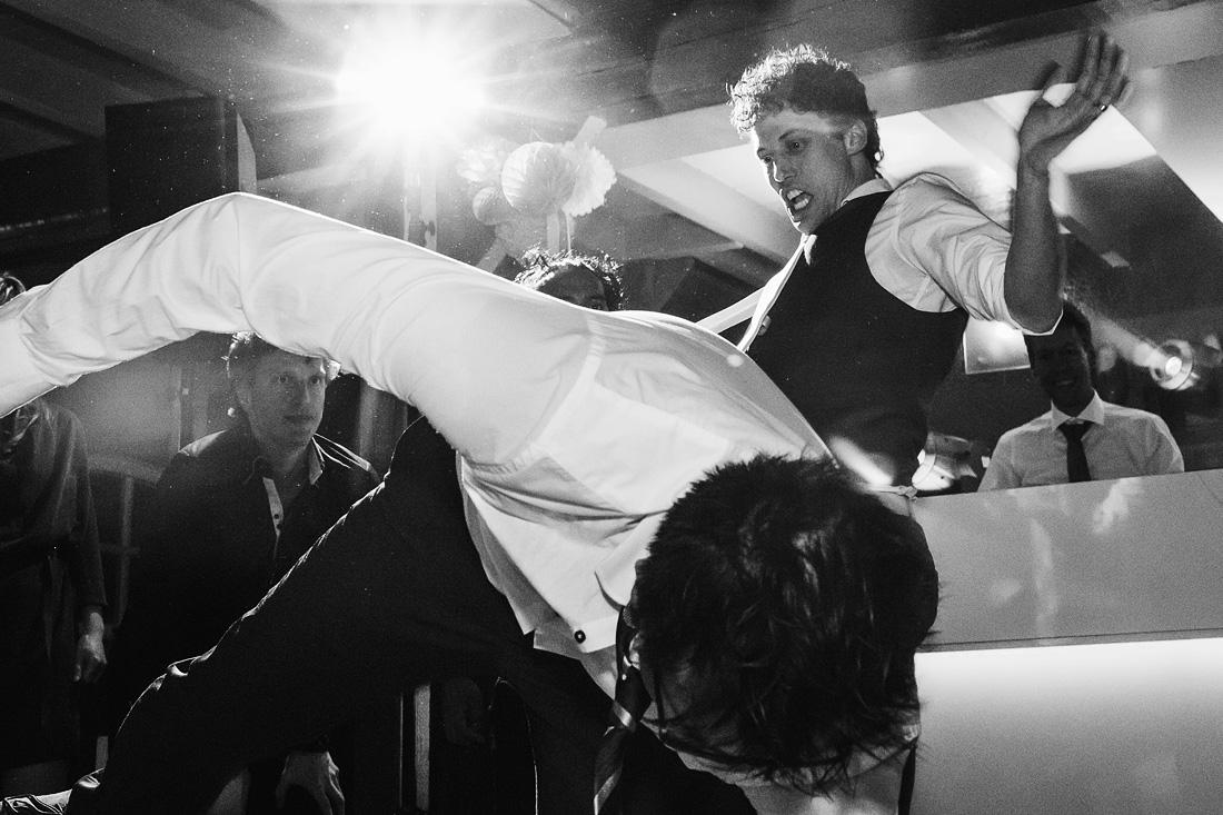 Feest Bruiloft Capoeira
