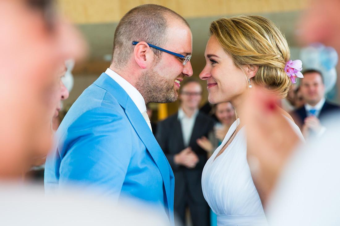 Ceremonie bruiloft trouwreportage