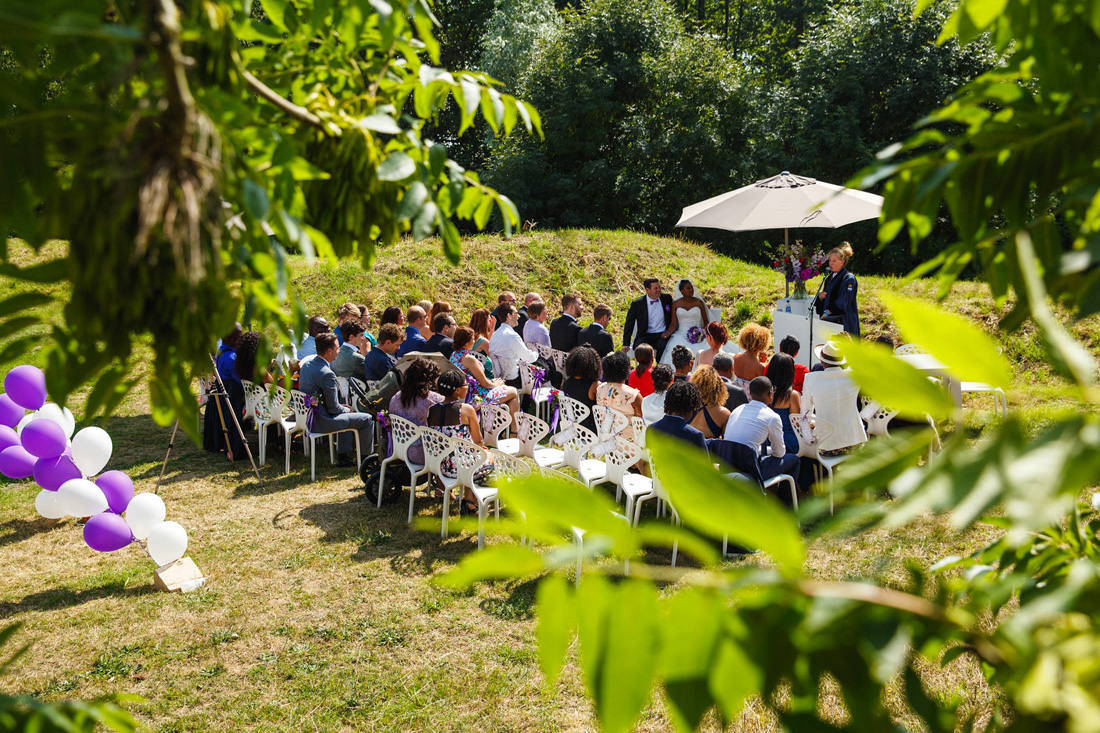 trouwen bij paviljoen puur