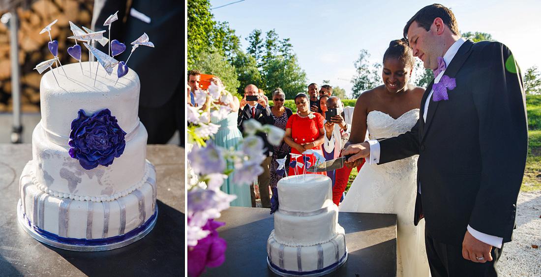 drs koekenbakker taart bruiloft