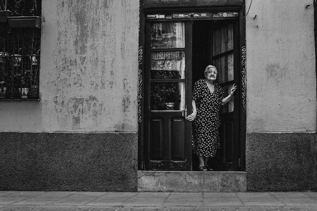Madrid Street Photography Spanish Abuela Old woman