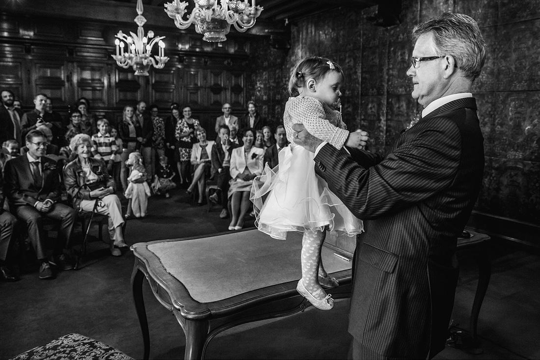 kinderen op je bruiloft ceremonie grappig