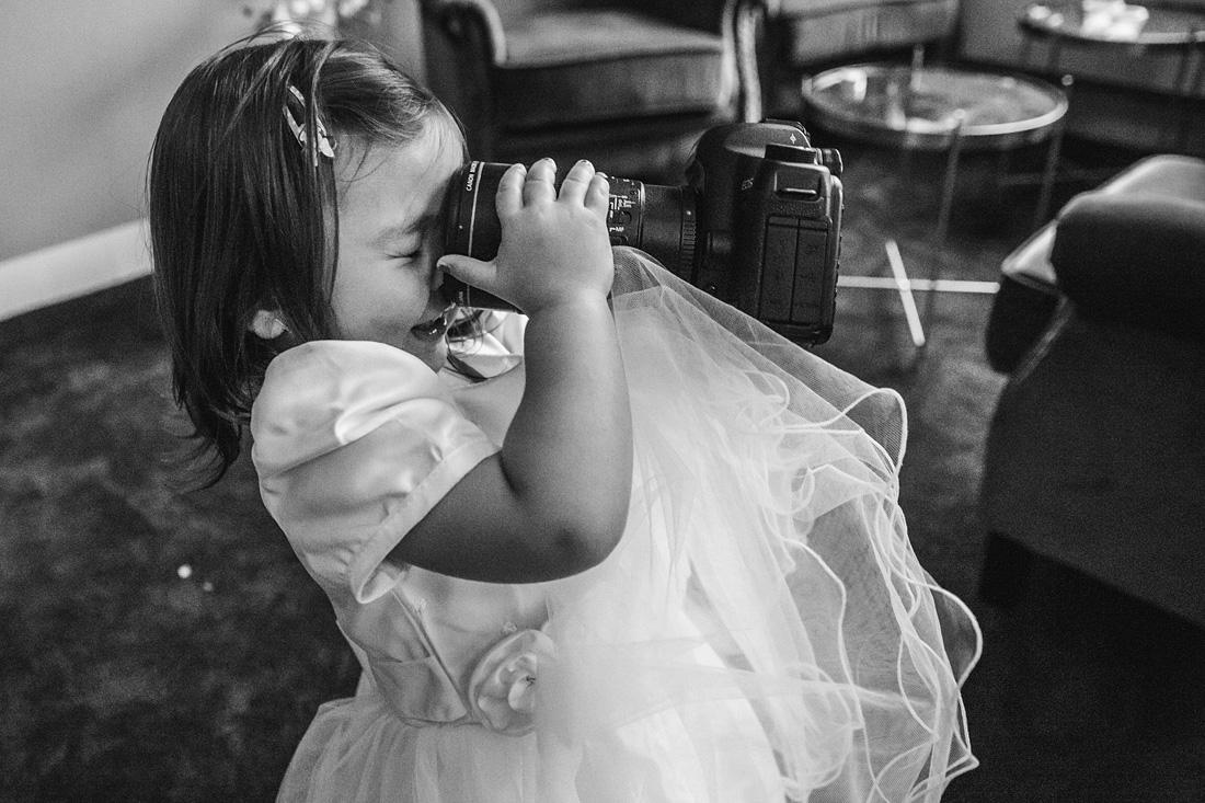 kinderen op je bruiloft selfie
