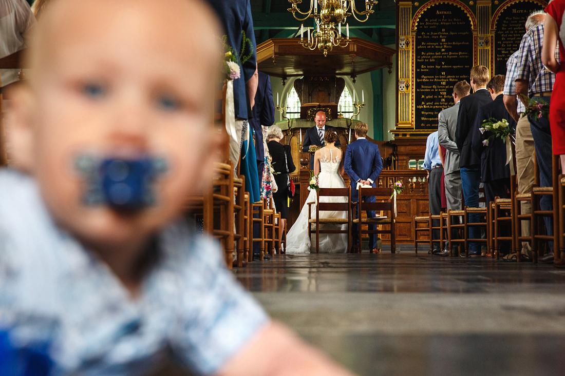 baby trouwceremonie