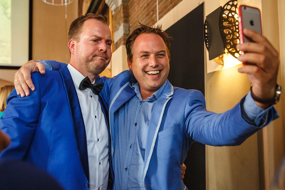selfie iphone bruiloft