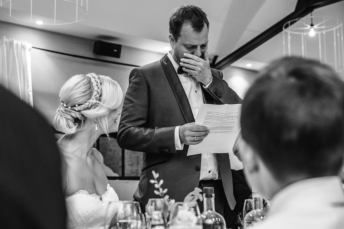 speech diner bruiloft