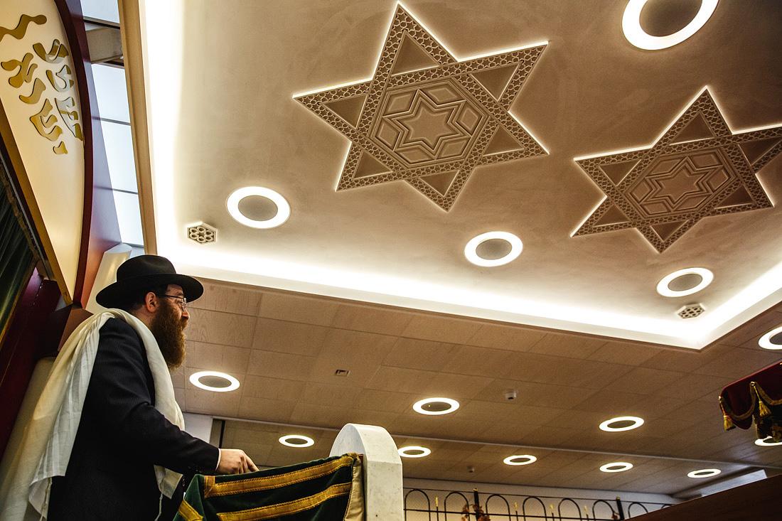 synagoge rabbijn joodse bruiloft