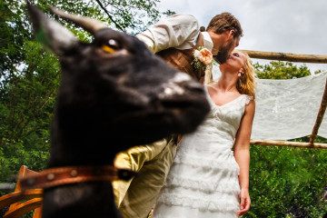trouwceremonie bruiloft