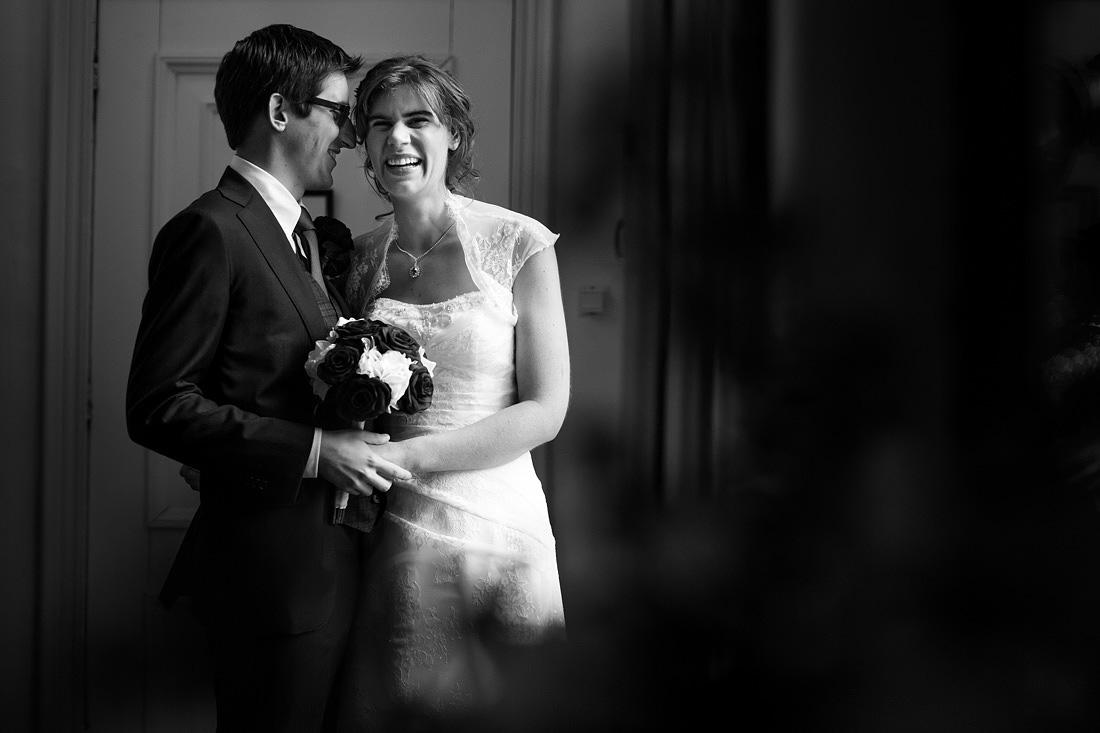 ontspannen fotoshoot bruiloft