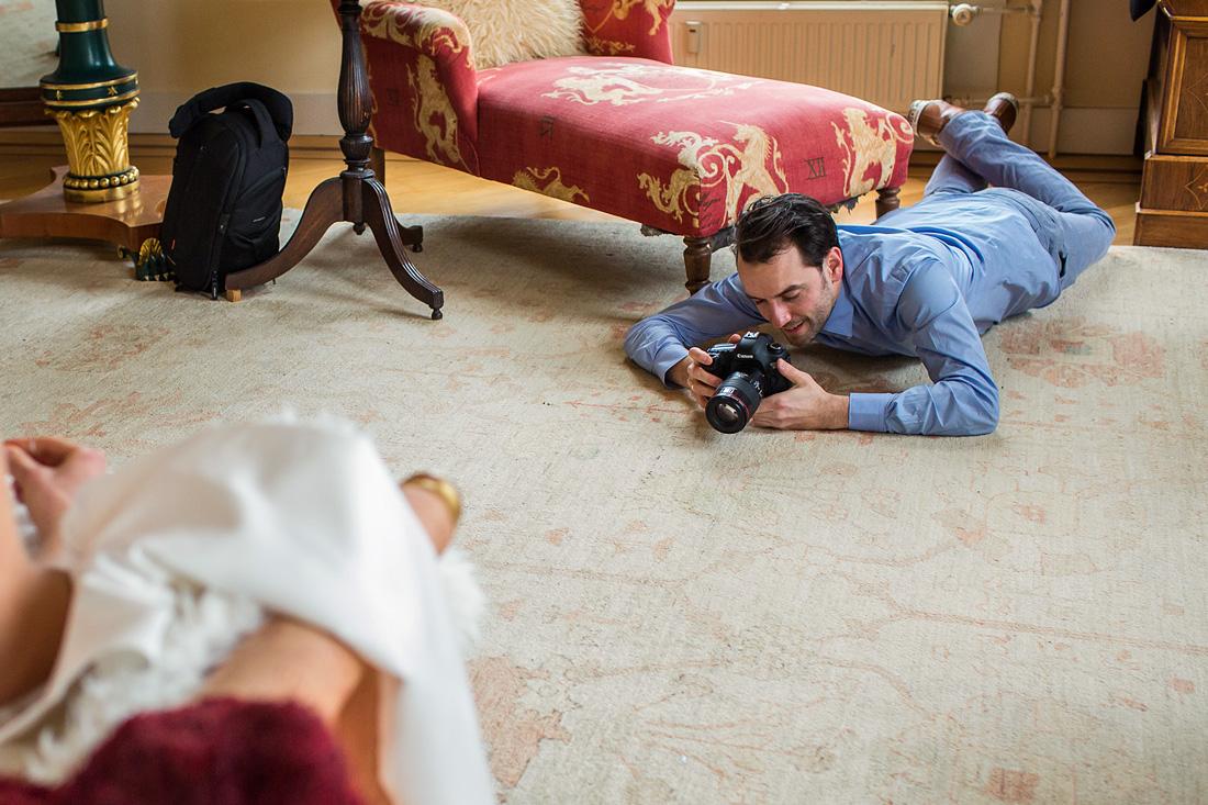 behind the scenes bruidsfotografie