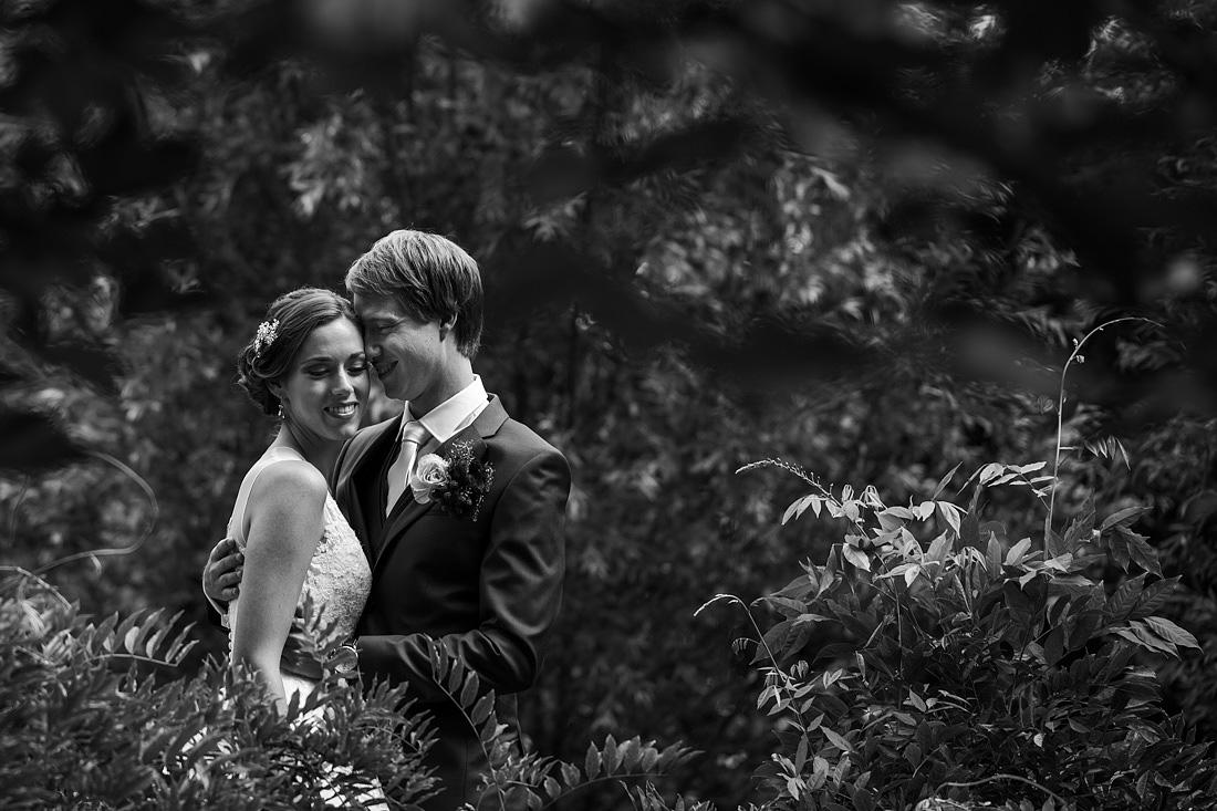 ontspannen bruidsreportage