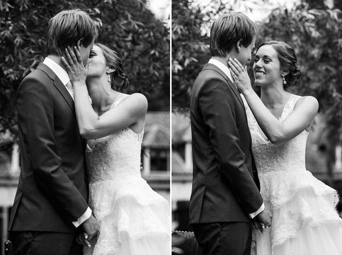de zoen bruiloft