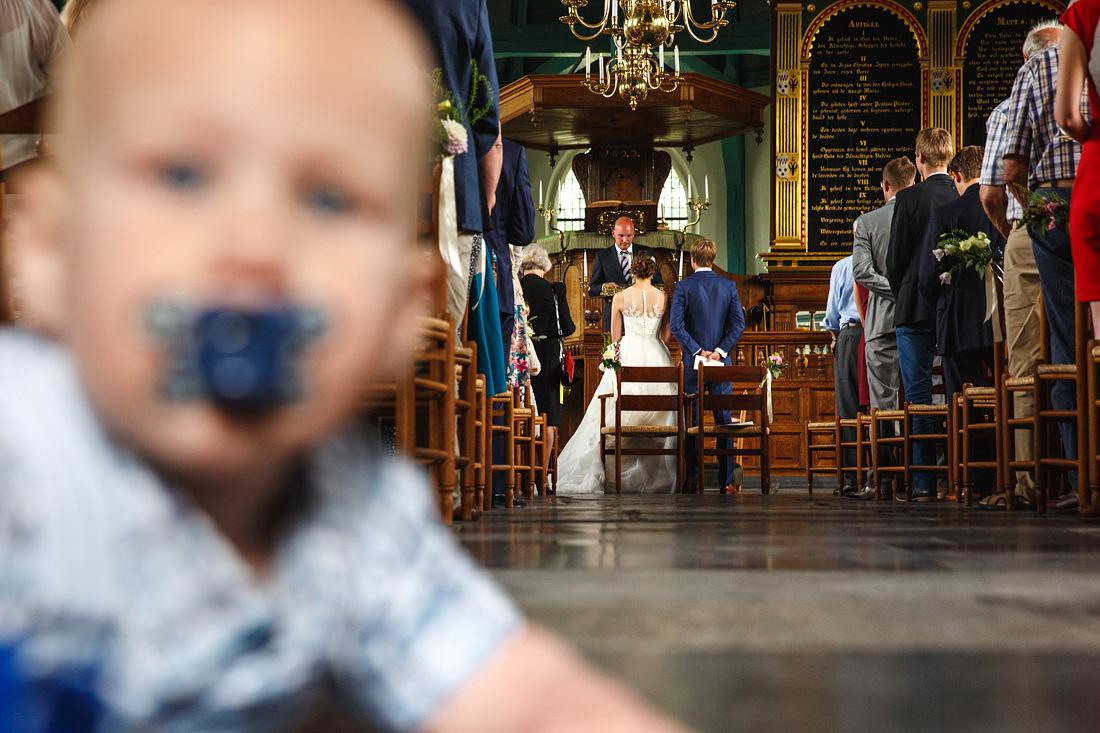 kerkdienst bruiloft